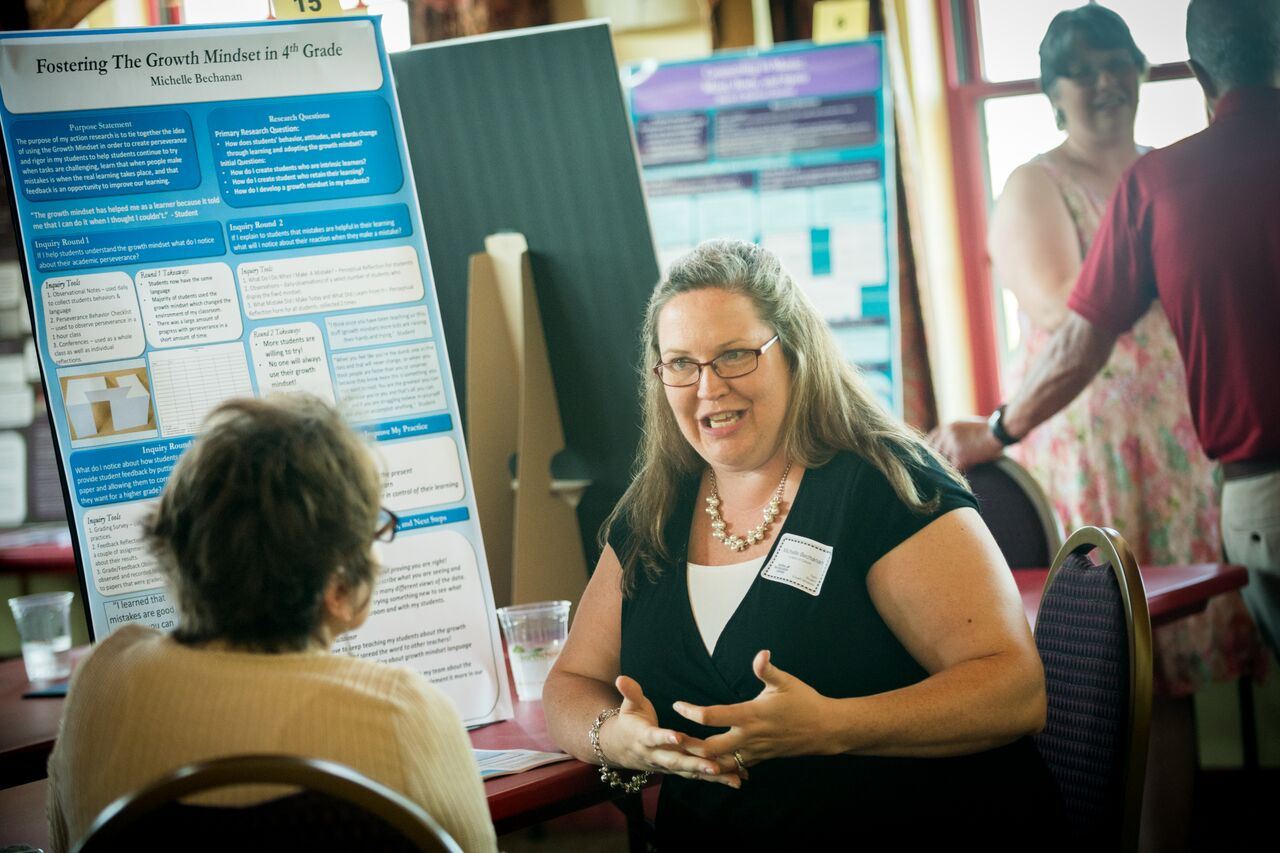Presenting at the Action Research Symposium